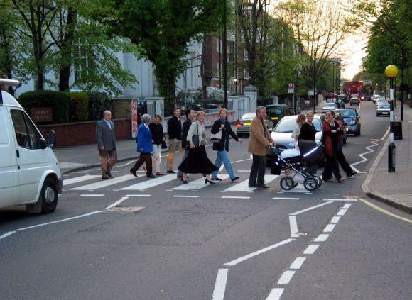 Abbey Road Zebra Crossing 2004