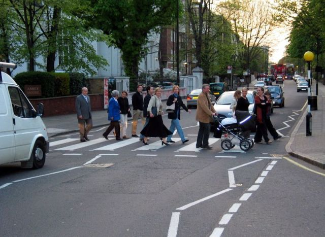 Abbey Road Zebra Crossing 2004
