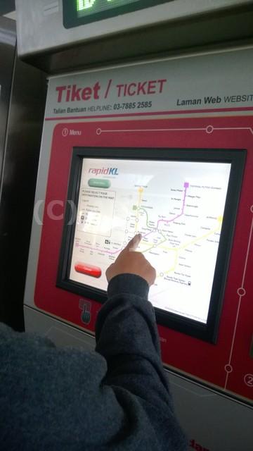 Loket MRT Malaysia